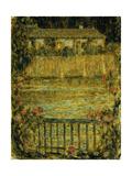 A House by the Water at Dusk; La Maison Au Bord De L'Eau Au Crepuscule, 1909 Giclee Print by Henri Eugene Augustin Le Sidaner