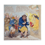 Blue and Buff Charity Giclee Print by James Gillray