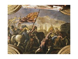 The Venetians Conquer Padua, 1509 Giclee Print by Jacopo Negretti