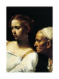Judith and Old Servant, Detail from Judith and Holofernes Giclee Print by  Caravaggio