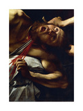 The Beheading of Holofernes, Detail from Judith and Holofernes Giclee Print by  Caravaggio