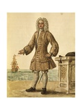 Ship Captain of Venetian Republic Giclee Print by Jan van Grevenbroeck