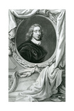 Portrait of Sir Henry Vane Giclee Print by Jacobus Houbraken