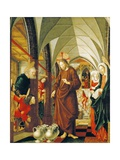 Wedding at Cana, Panel from Stories of Christ, St Wolfgang Altarpiece, 1479-1481 Giclee Print by Michael Pacher