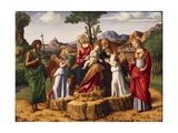 Holy Conversation or Madonna Enthroned with Child Giclee Print by Giovanni Battista Cima Da Conegliano