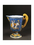 Pitcher Decorated with Waves and Mythological Scenes, Ca 1660 Giclee Print by Michel Dorigny