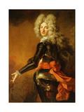 Portrait of Maximilien-Philippe De Recourt De Lens Et De Licques, Count De Ruppelmonde Giclee Print by Nicolas de Largilliere