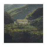 The Royal Palace of Quisisana, Near Naples Giclee Print by Johan Christian Clausen Dahl