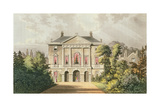 The New Lodge, Richmond Park, from Ackermann's 'Repository of Arts', Published C.1826 Giclee Print by John Gendall