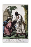 Marabout Island Saint-Louis, Senegal, Color Engraving from Encyclopedie Des Voyages Giclee Print by Jacques Grasset de Saint-Sauveur