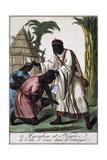 Marabout Island Saint-Louis, Senegal, Color Engraving from Encyclopedie Des Voyages Giclee Print by Jacques Grasset de Saint-Sauveur