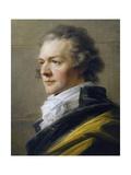 Portrait of Johann Nepomuk Hunczovsky Giclee Print by Heinrich Friedrich Fuger