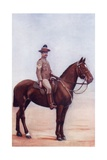 A Sergeant Major of the New South Wales Lancers C.1900, from 'South Africa and the Transvaal War' Giclee Print by Louis Creswicke