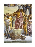 Sermon and Deeds of Antichrist, from Last Judgment Fresco Cycle, 1499-1504 Giclee Print by Luca Signorelli