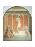 Christ at Column, Virgin and Figure of Penitent Dominican Saint, 1438-1447 Reproduction procédé giclée par Giovanni Da Fiesole