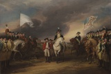 The Surrender of Lord Cornwallis at Yorktown, October 19, 1781, 1787-C.1828 Giclee Print by John Trumbull