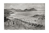 Colonel Pilcher's Attack on Sunnyside Kopje, from 'South Africa and the Transvaal War' Giclee Print by Louis Creswicke