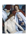 France, Nouans-Les-Fontaines, Saint-Martin Church, Pieta, 1474 Giclee Print by Jean Fouquet