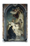 Italy, Venice, Chapel of Church of Jesuits or St Mary of Rosary Giclee Print by Giovanni Battista Piazzetta