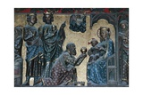 Adoration of the Magi, Bas-Relief on the Choir with Stories from the Life of Christ Giclee Print by Jean Ravy