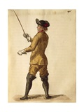 Gentleman in Riding Costume Giclée-Druck von Jan van Grevenbroeck