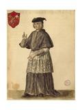 Papal Legate at Serenissima Giclée-Druck von Jan van Grevenbroeck