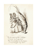 The Lobster Giclee Print by John Tenniel