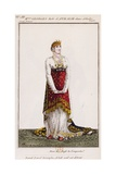 Mademoiselle Georges in Role of Athalie, Illustration for Tragedy Athalie Giclee Print by Jean Racine
