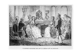 Jean Le Rond D'Alembert at the Salon of Mme Du Deffant and Mlle De Lespinasse Giclee Print by Louis Figuier