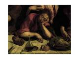 The Sleeping Apostle, Detail from the Last Supper, 1546-1548 Giclee Print by Jacopo Bassano