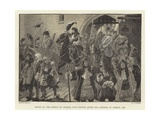 Entry of the Prince of Orange into Exeter after His Landing at Torbay, 1688 Giclee Print by Gordon Frederick Browne