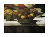 Basket of Fruit, Detail from Supper at Emmaus Giclee Print by  Caravaggio