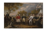 Battle of Saratoga Giclee Print by John Trumbull