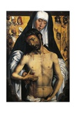 Spain, Granada, Royal Chapel of Cathedral, Virgin Showing Man of Sorrows Giclee Print by Hans Memling