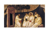 The Preaching of St Romuald Giclee Print by Nardo Di Cione