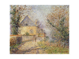 Houses on the Banks of the L'Eure, Louviers; Maisons Au Bord De L'Eure, Louviers, 1902 Giclee Print by Gustave Loiseau