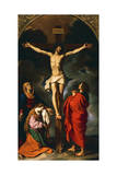 Crucifixion, 1466-1645 Giclee Print by Giovanni Francesco Barbieri
