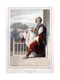 Portrait, Du Vues Et De Costumes Grecs Et Ottomans from Voyage a Athenes Et a Constantinople, 1825 Giclee Print by Louis Dupré