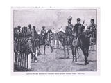 Arrival of the British at Makharajah Dhuleep Singh at the British Camp Ad 1846 Giclee Print by Gordon Frederick Browne