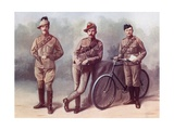 From Left, a Trooper of the South African Light Horse Giclee Print by Louis Creswicke