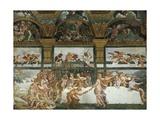 Wedding Banquet-Feast of the Gods Giclée-tryk af Romano, Giulio