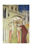 Figures of Men, Detail from Resurrection of Lazarus Giclee Print by Giovanni Da Milano