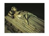 Funerary Monument to Ilaria Del Carretto Guinigi, 1406-1407 Giclée-tryk af Jacopo Della Quercia