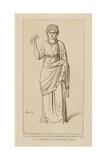 Galla Placidia Imperatrice, Regente D'Occident, 430 Giclee-trykk av Raphael Jacquemin