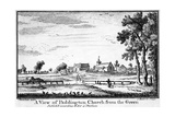 A View of Paddington Church from the Green Giclee Print by Haynes King