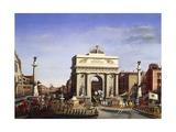 Napoleon Bonaparte's Entrance into Venice, November 29, 1807 Giclee Print by Giuseppe Borsato