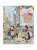 Alsace-Lorraine, Illustration for 'Le Tour De France' by Marie De Grandmaison, 1893 Giclee Print by J. Maurel