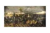 Second War of Independence: Battle of San Martino, 24 June 1859 Giclee Print by Michele Cammarano