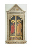 External Doors with St Mark the Evangelist and St Peter, Tabernacle of the Linen Drapers, 1432-1433 Reproduction procédé giclée par Giovanni Da Fiesole