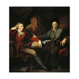 The Artist in Conversation with Johann Jakob Bodmer, 1778-1781 Giclee Print by Henry Fuseli